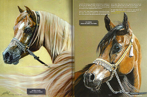 Animal paintings and animal portraits Katja Sauer - DESERT MIRAGE MAGAZINE