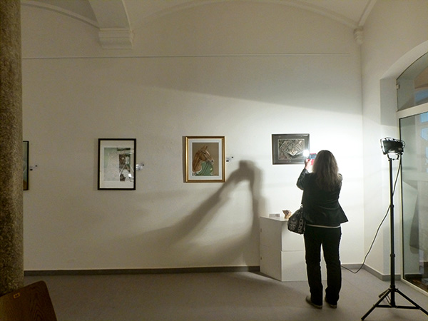 Exhibition in the Old Steam Bath in Baden-Baden - animal paintings and animal portraits by Katja Sauer