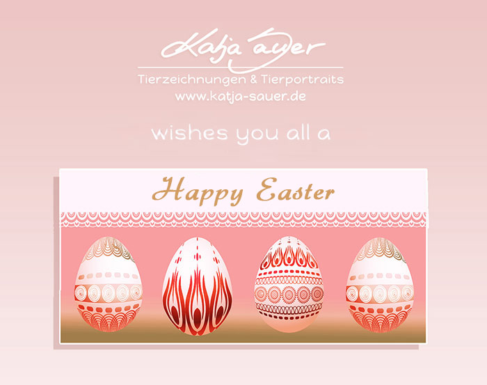 Katja Sauer wishes you a Happy Easter!
