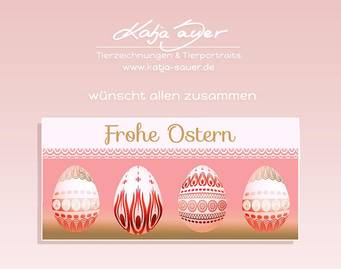 Katja Sauer wünscht Frohe Ostern!