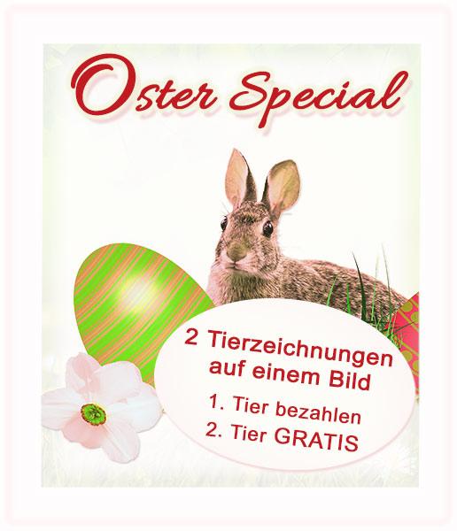 Oster Special 2015 - Tierzeichnungen und Tierportraits von Katja Sauer