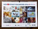 """Pastellkreidezeichnung """"Fuchs"""" von Katja Sauer im Artina Art Kalender 2016"""