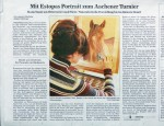Article about my animal portraits in the paper 'Acher- und Buehler Bote ABB'
