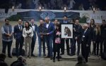 """Araberhengst PADRONS PSYCHE in Pastellkreide von Katja Sauer - """"Lifetime Achievement Award"""" beim ANC 2016 in Aachen"""
