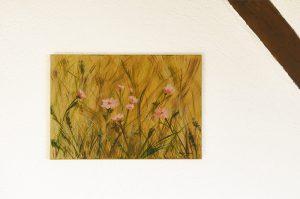 Sommerfeld in Acryl von Katja Sauer