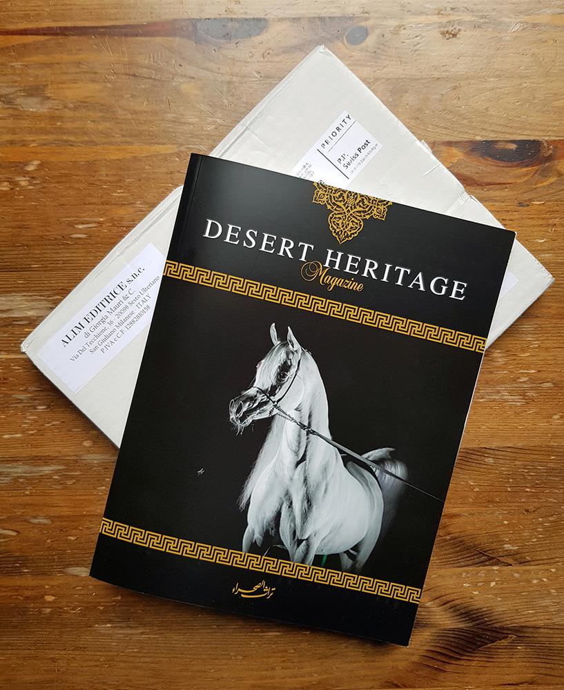 Katja Sauer Tierzeichnungen im Desert Heritage Magazine