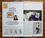 Tierportraits von Katja Sauer im Arabian Horse Letter